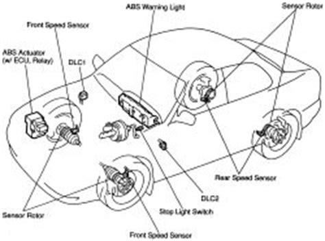 repair anti lock braking 2000 toyota camry seat position control repair guides anti lock brake system general information autozone com