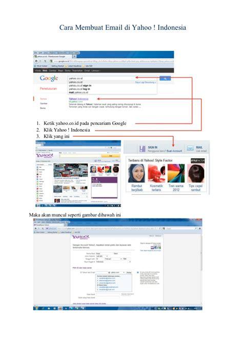 cara membuat email yahoo cara membuat email di yahoo