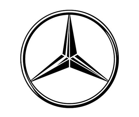 mercedes logo mercedes logo vector and clip