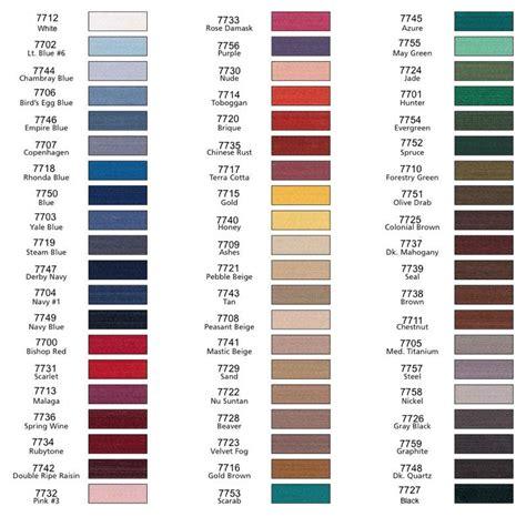 coats and clark thread color chart coats and clark dual duty thread color chart coats and