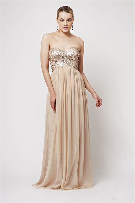 Azzaria Dress special azaria gold pink dress sentani s