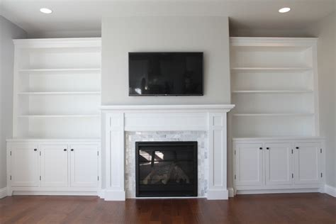 fireplace with built in cabinets how to build a built in part 3 of 3 the bookshelves