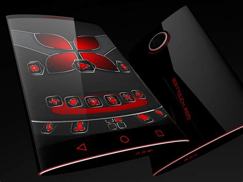 next launcher themes red soft touch red theme for next launcher android apps on