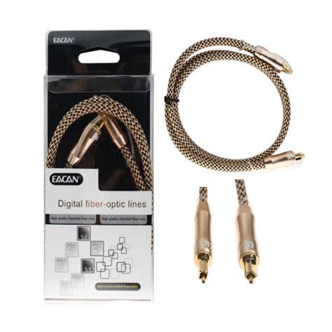 Kabel Audio Fiber Optic Gold 5mtr jual eacan audio fiber optic cable gold 1 m harga kualitas terjamin blibli