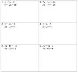 gallery for gt solving linear equations worksheet