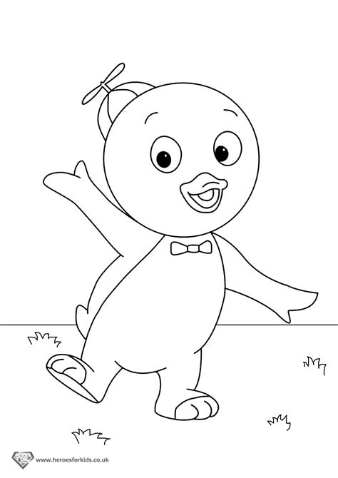 13 backyardigans coloring pages printable print color craft