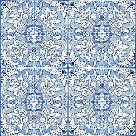 Safira Flower safira fabric lilyoake spoonflower