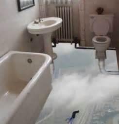 bathroom illusion - Bathroom Floor Illusions