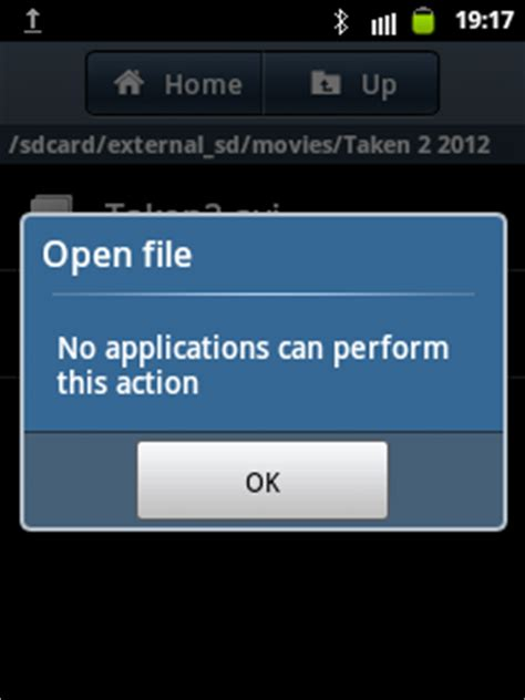 how to open mov file on android and avi player for android phones