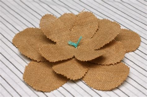 burlap flower template burlap flowers 15 interesting how tos guide patterns