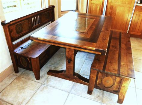 large kitchen tables with benches kitchen storage bench and table bee home plan