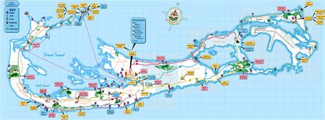printable road map of bermuda large detailed tourist map of bermuda bermuda large