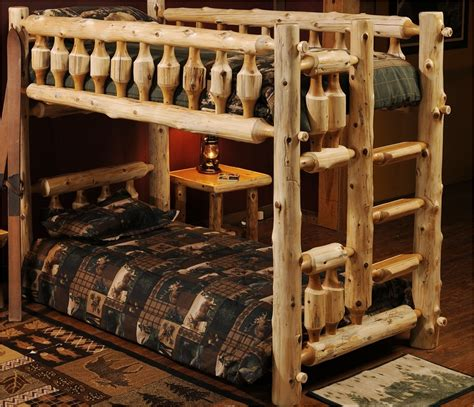 bunk beds mn rustic log bunk beds twin full queen bunkbeds free shipping pequot lakes mn the