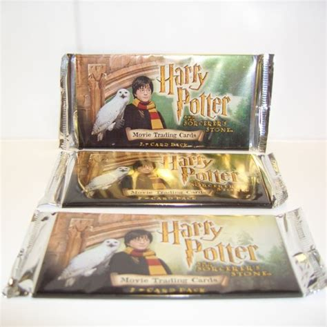 harry potter and the sorcerer s enchanted postcard book books harry potter the sorcerer s trading cards 7