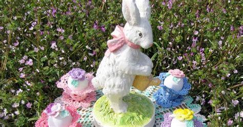 Easter Garden by Bellacrochet Easter Garden Doily A Free Crochet Pattern