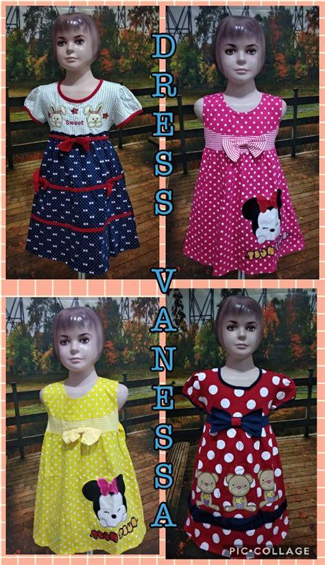Dress Anak Murah Model Pelaut Merah D6223 Size S grosir dress anak murah 40ribuan