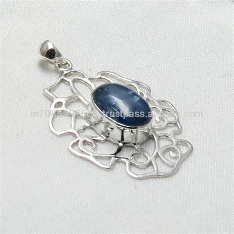 Handcrafted Silver Jewellery - garland 925 sterling silver pendant handmade