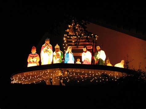 outdoor lighted nativity sets for sale outdoor lighting