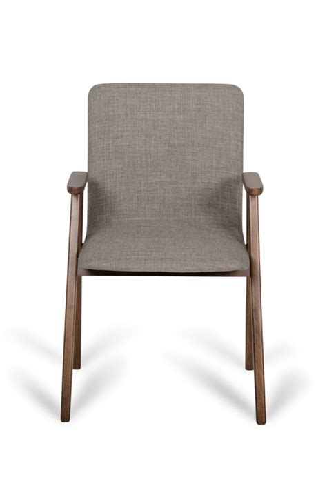 maddox modern sesame walnut dining chair set of 2