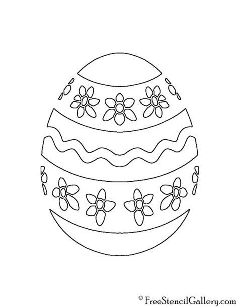 easter stencils printable home gt pumpkin carving easter egg 06 stencil free stencil gallery