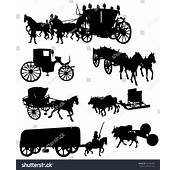 Old Wagon Silhouette Gallery