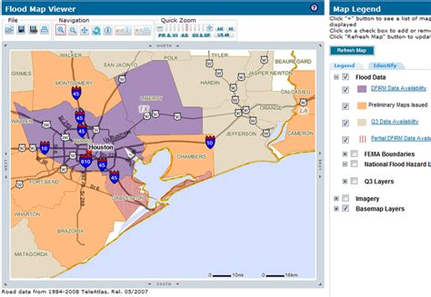 flood zone maps texas november 2008 se texas real estate talk