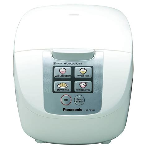 panasonic fuzzy logic 10 cup rice cooker srdf181 the