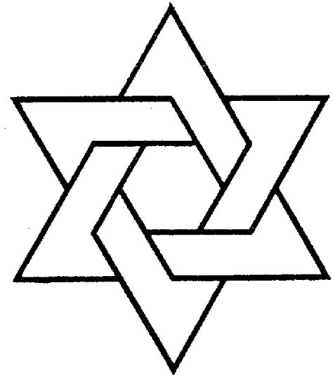 abcteach printable worksheet star of david pattern chanuka symbols coloring page coloring page of the star
