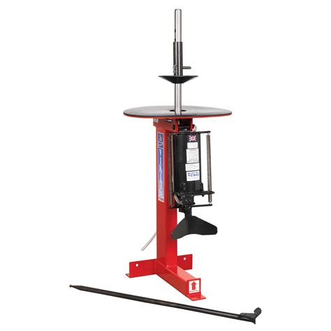 manual bead breaker sealey tyre changer pneumatic manual bead breaker