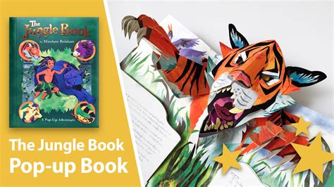 i you a pop up book books the jungle book pop up book by matthew reinhart review