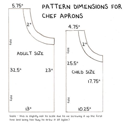 apron design template how to sew an adjustable chef s apron 11 steps with