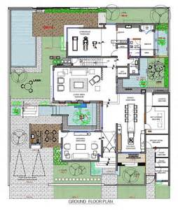 Modern Villa Floor Plan A Contemporary Home For A Family In Bahrain Architecture