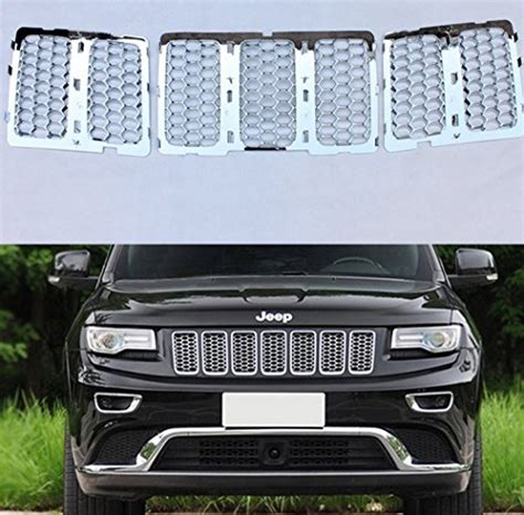 Front Grill Jeep Grand 2015 Chrome Front Grill Mesh Grille Insert For 2014