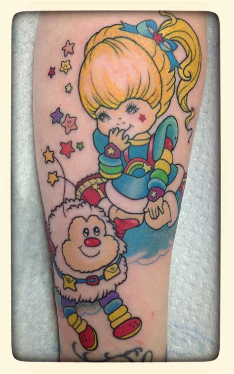 rainbow brite tattoo designs tattoos rainbowbrite org for the fans by the fans