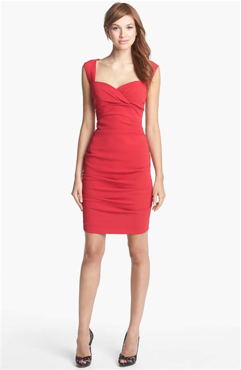 Ruched Dresses by Miller Ruched Sheath Dress For Fosoz