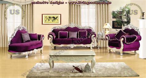 maroon sofa living room living room sofa designs avantgarde carved