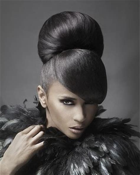 pics of black women pretty big hair buns with added hair 1000 images about updo hairstyles on pinterest updo