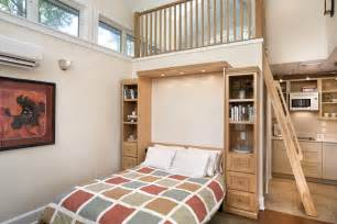 tiny house with murphy bed studio apartment design plans small floor