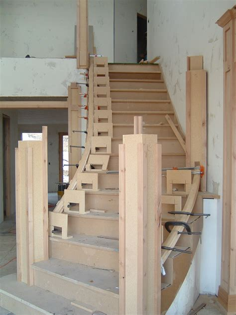 Landing Skirt Freex curved stairs no mystery just simple math thisiscarpentry