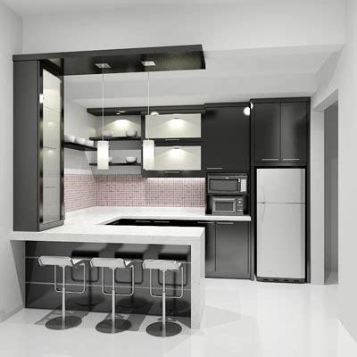 gambar desain dapur minimalis modern ukuran desain minimalis