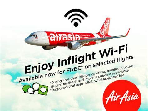 airasia entertainment free wifi on board airasia flights sarawakbloggers net