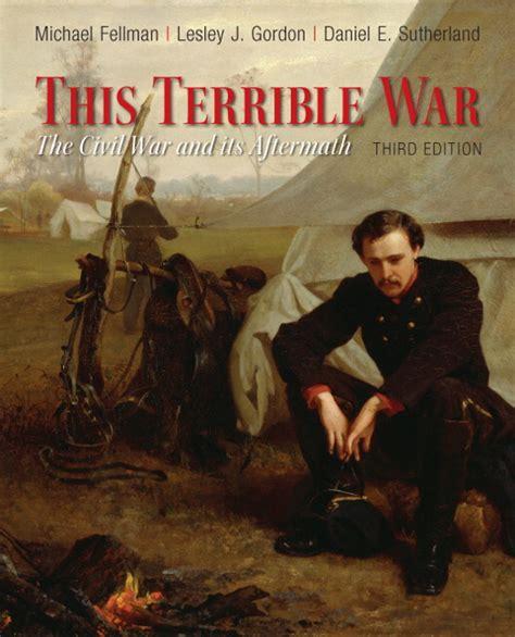 fellman gordon sutherland this terrible war the civil