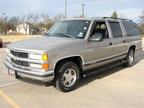 how to work on cars 1998 chevrolet suburban 2500 auto manual 1998 chevrolet suburban used cars in texas mitula cars