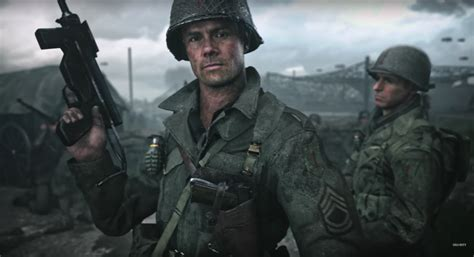 call of duty wwii call of duty wwii trailer returns the franchise to its roots collider