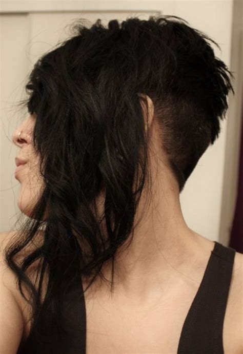 back of head asymettrical hair line cuts pictures kimberly caldwell kimberly caldwell asymmetrical