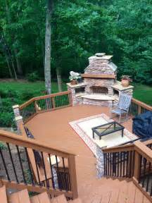 todays pool and patio today s decks are anything but square deck design ideas