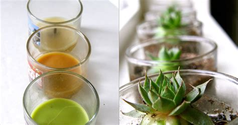 removing wax from glass candle jars quarter past normal can can dancer candle jars to succulent garden