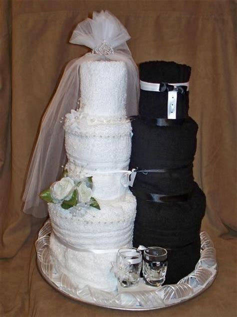towel cakes for bridal shower ideas towel cake creative bridal shower with