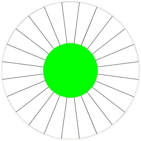 prize wheel template blank spinner clipart best
