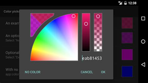 hsv color picker hsv alpha color picker demo android apps on play